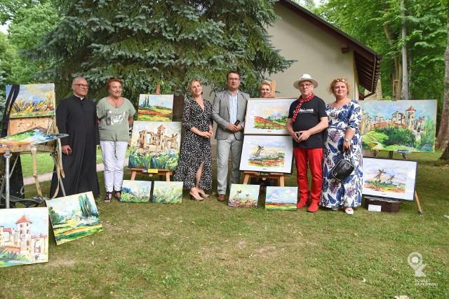 Wystawa poplenerowa odbyła się w Misjonarskim Ośrodku Formacyjnym Vincentinum w Krzeszowicach