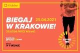 """W niedzielę, 25 kwietnia na stadionie lekkoatletycznym WKS Wawel specjalne zajęcia w ramach projektu """"Biegaj w Krakowie!"""""""