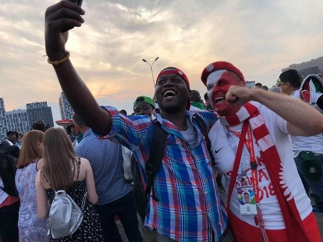 Nasi też tam byli! Piotrkowscy kibice na meczu Polska - Senegal w Moskwie na stadionie Spartaka