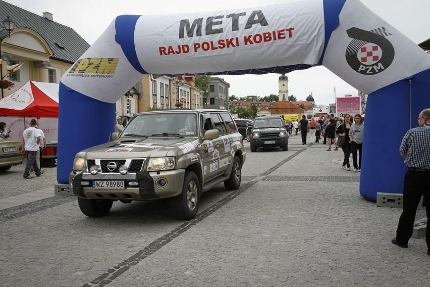 Polski Rajd Kobiet Polski Rajd Kobiet. Meta w Bialymstoku