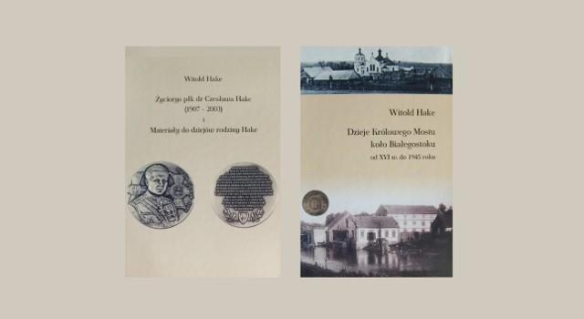Spotkanie z Witoldem Hake już w poniedziałek. Będzie promował książkę poświęconą swojemu ojcu pułkownikowi Hake i dziejom Królowego Mostu.