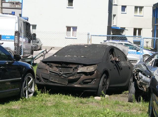 Tego opla spalono burmistrzowi 20 lipca ubiegłego roku