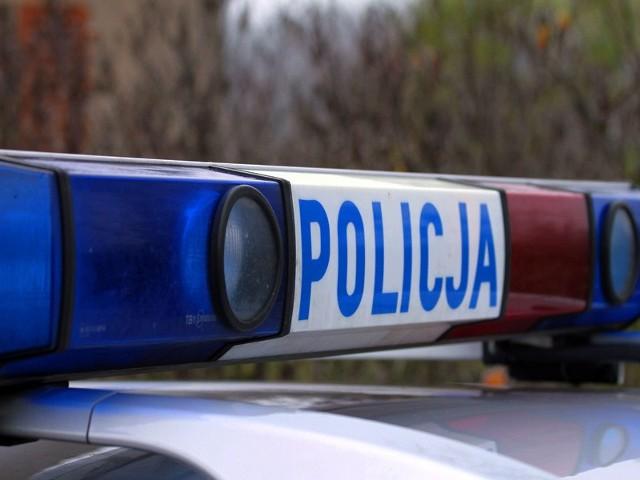 Tir wypadł z drogi na 150 kilometrze S3 w kierunku Gorzowa