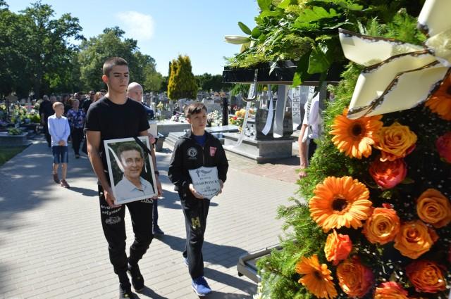 Pogrzeb Henryka Grabowieckiego w Piotrkowie. Ostatnie pożegnanie trenera zapasów
