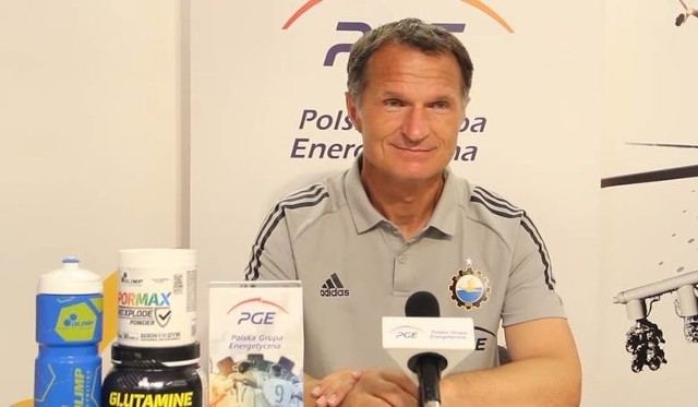 Trener Dariusz Skrzypczak