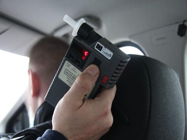 Pijany kierowca miał ponad dwa promile w wydychanym powietrzu