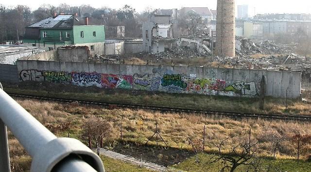 Taki widok rozpościera się z Drogi Łąkowej, nowoczesnej arterii przelotowej przez miasto.
