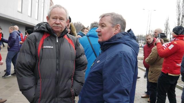 Marzec 2017 rok. Otwarcie nowego stadionu Widzewa. Krzysztof Kamiński i Wiesław Wraga byli tylko gośćmi klubu. I tak jest do dziś