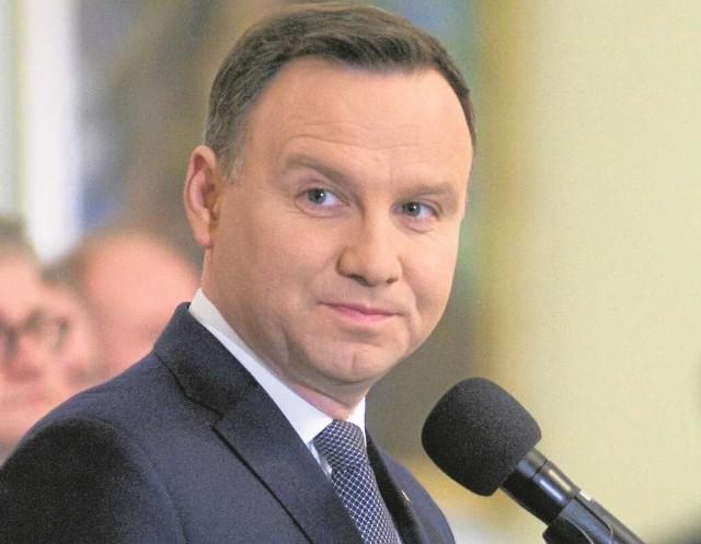 Prezydent Andrzej Duda chce, by Polska stała się liderem regionu