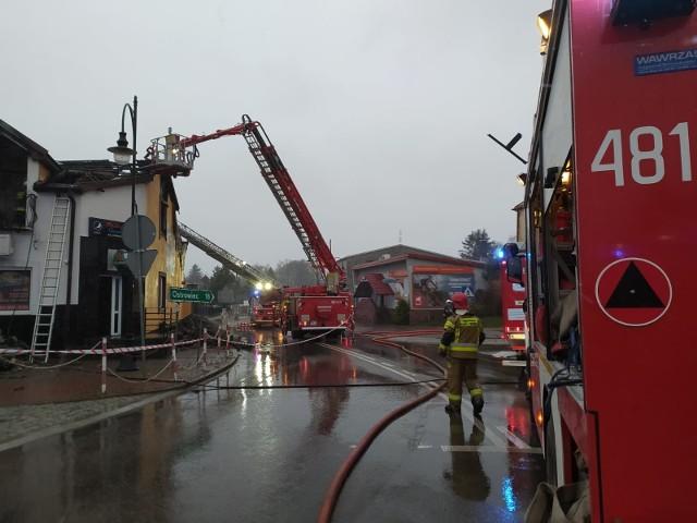 Do pożaru pizzerii doszło w ostatnią środę, 14 kwietnia.