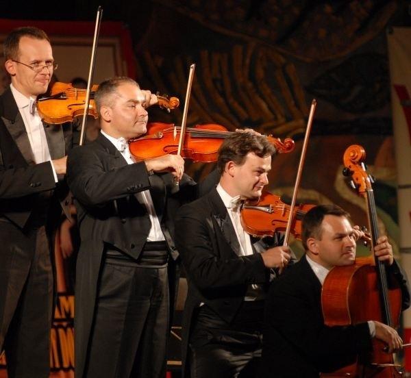 Kwartet smyczkowy da popis swoich umiejętności.