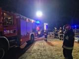Kolonia Zawady. Pożar domu jednorodzinnego. Strażacy rozebrali kuchnię (zdjęcia)
