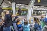 Poznań: Festyn rodzinny w zajezdni Franowo z okazji Europejskiego Tygodnia Zrównoważonego Transportu [ZDJĘCIA]