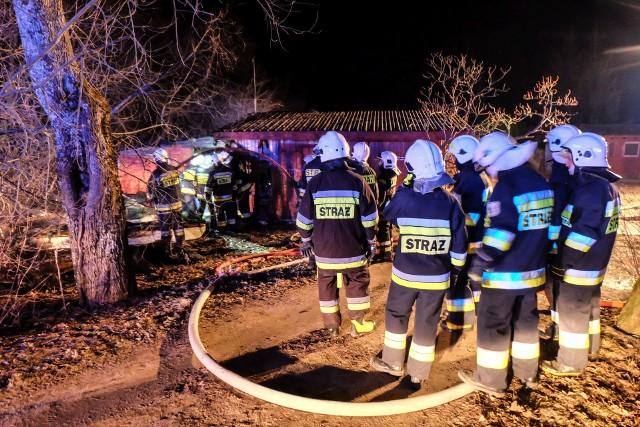 W sobotę, po godz. 20 na plaży w Supraślu doszło do pożaru.Zobacz też: Wypadek na Nowym Mieście w Białymstoku