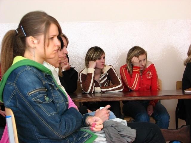 Przez 40 minut lekcji na sali panowała kompletna cisza.