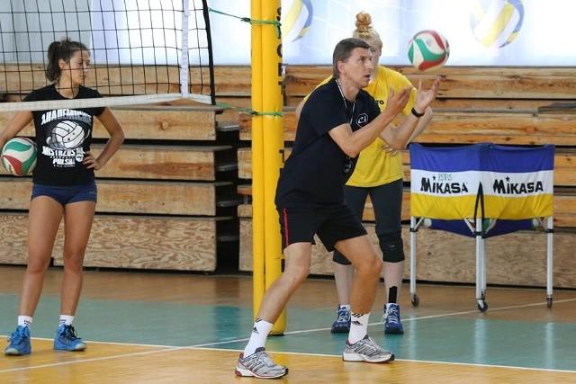Trener Zdzisław Gogol od nowego sezonu będzie miał więcej obowiązków.