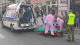 Funkcjonariusze KaOSG pomogli potrąconej przez samochód dziewczynce w Limanowej