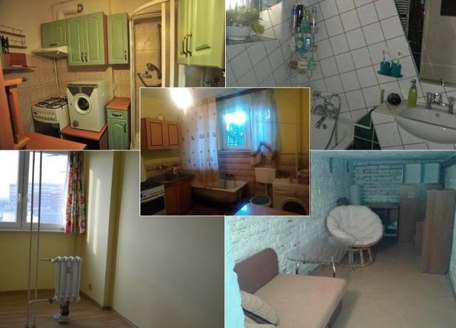 Wystrój wołający o pomstę do Nieba? Kuchnia i łazienka z pokoju? Meblościanka, która pamięta przedwojenne czasy? Może być w nich wszystko. Zobacz, jak wygląda koszmar studenta i lokatora, czyli najgorsze mieszkania do wynajęcia w naszym kraju. Jak tu mieszkać?!Zdjęcia pochodzą z fanpage'a Ch***we mieszkania do wynajęcia na FacebookuA może zdarzyło Ci się trafić na podobne ogłoszenie? Koniecznie prześlij nam informację ze zdjęciem na adres: online@wspolczesna.pl!CZYTAJ TEŻ: Lista 100 znanych i rozpoznawalnych Podlasian: aktorzy, pisarze, sportowcy, politycy, celebryci [ZDJĘCIA]Ile zarabiają zespoły disco polo? Akcent, Weekend, Boys i inni (zdjęcia)
