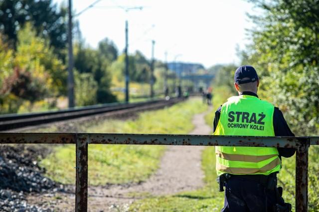 Śmiertelne potrącenie na torach kolejowych w rejonie osiedla Białostoczek