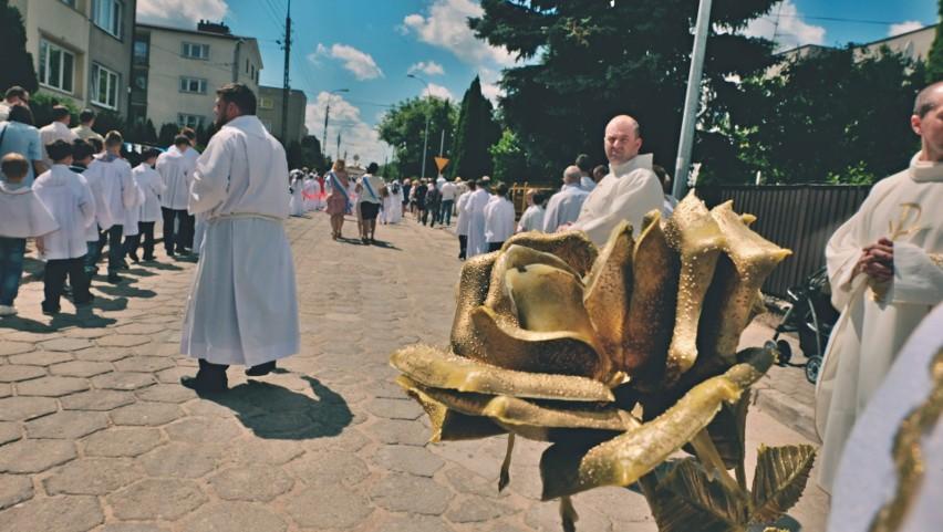 Tradycyjnie już procesje z okazji uroczystości Bożego Ciała...