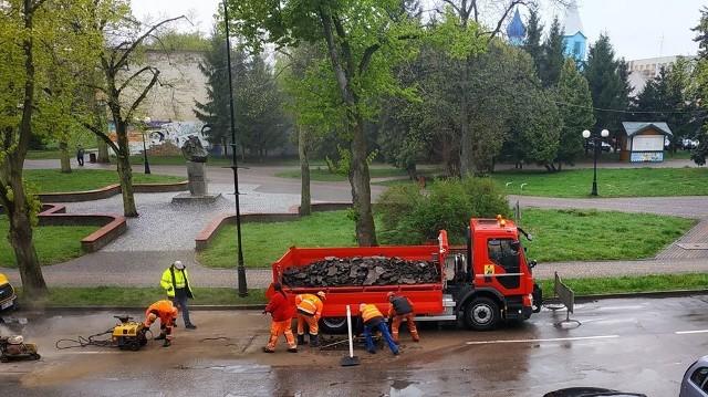 Mieszkańcy Bielska Podlaskiego od kilku dni mają trochę utrudnione przejazdy przez miasto z powodu remontu ulic
