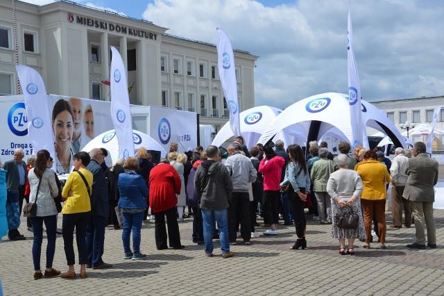 Na bezpłatne badania opłacane przez PZU zgłosiła się w Stalowej Woli duża liczba mieszkańców