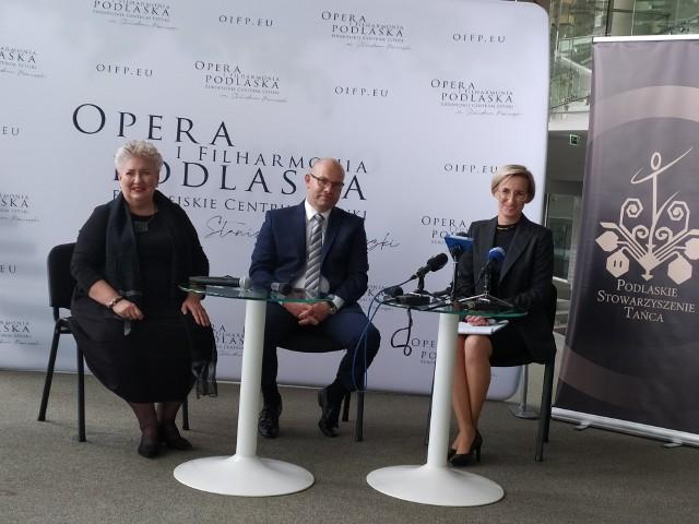 """""""Przestrzenie sztuki"""" w Białymstoku zrealizuje OiFP i Podlaskie Stowarzyszenie Tańca. Projekt wsparł też marszałek Artur Kosicki."""