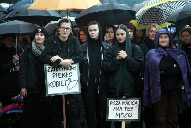 W Czarnym Poniedziałku, 3 października, w Lublinie udział wzięło około tysiąca osób.