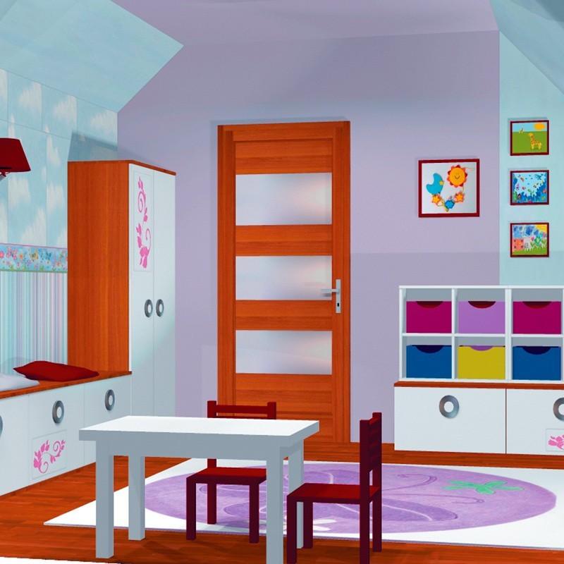 Pokój Dla Dziewczynki Dziecięca Sypialnia Kurier Poranny