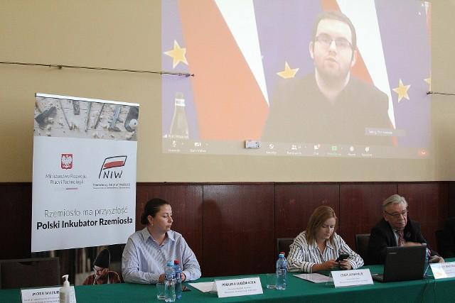 Spotkanie poświęcone było Polskiemu Inkubatorowi Rzemiosła i nowelizacji Ustawy o rzemiośle.