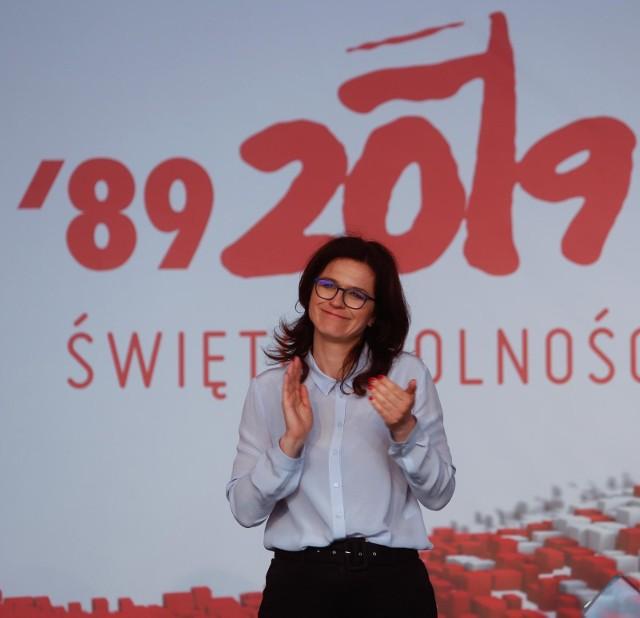Prezydent Aleksandra Dulkiewicz zaprosiła dziennikarzy, aby podziękować za relacjonowanie obchodów 4 czerwca w Gdańsku