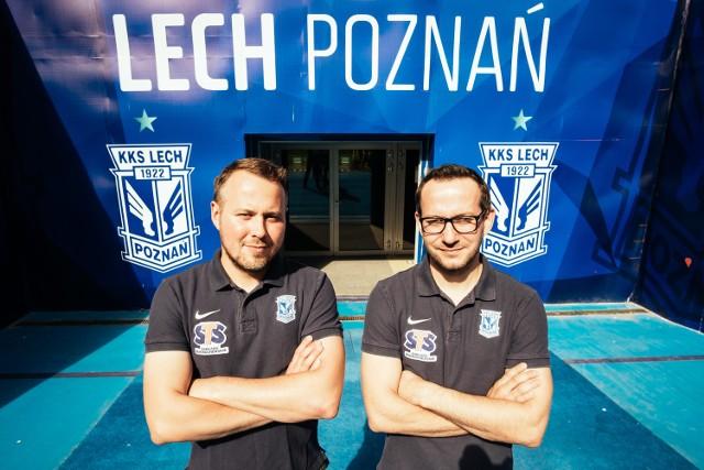 Wojciech Terpiłowski (z lewej) i jego brat Jacek to dwa żywioły. Na co dzień spotykają się na klubowych korytarzach