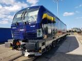Na torze pod Wrocławiem testowano supernowoczesną lokomotywę jeżdżącą 200 km/h [FILM]