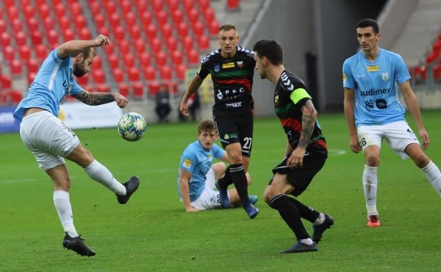 GKS Tychy przegrał ze Stomilem Olsztyn.