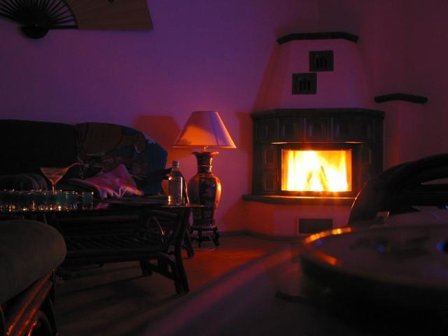 Rozpalony kominek w salonieKominek nie będzie dymił i będzie spełniał swoją funkcję, jeśli zadbamy o niego przed sezonem grzewczym.