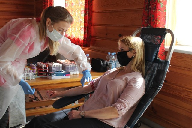 Akcja krwiodawstwa w Węglówce