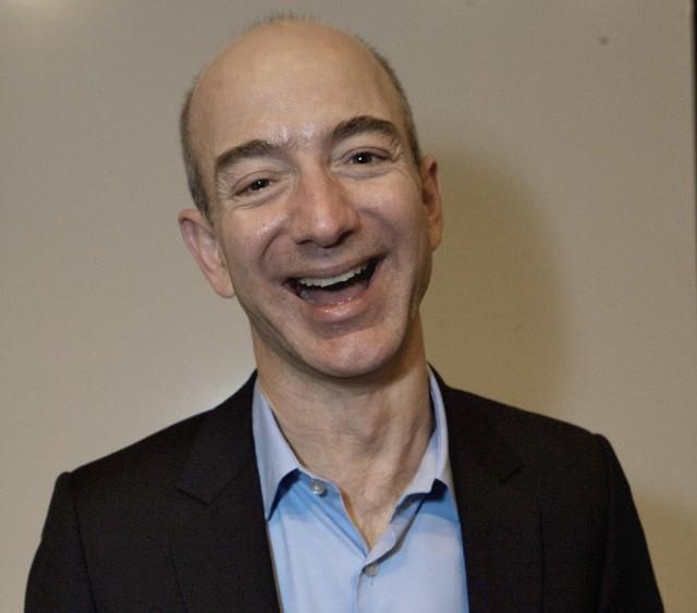 Jeff Bezos, prezes największego sklepu internetowego Amazon.com