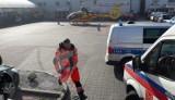 Wypadek przy pracy w jednym z marketów w Namysłowie