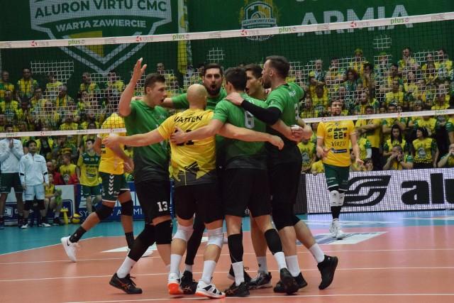 Aluron Virtu CMC Zawiercie – GKS Katowice 0:3 (22:25, 22:25, 19:25)
