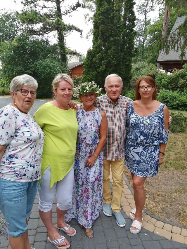Iwona Mazurkiewicz i Gerard Makodsz lubiani uczestnicy Sanatorium miłości spędzają wakacje