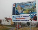 Witacz z życzeniami w Choszcznie