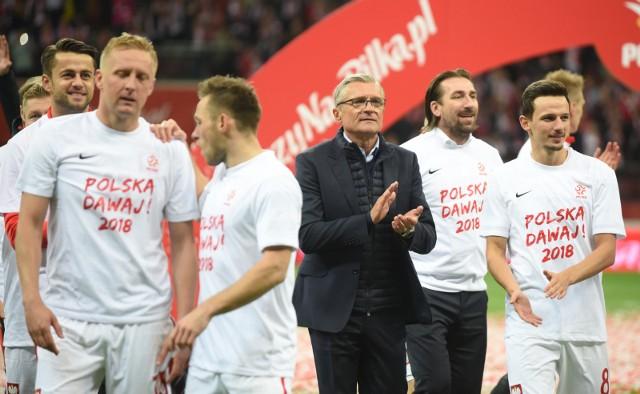 Adam Nawałka jest selekcjonerem reprezentacji Polski od czterech lat. Awansował z nią do mistrzostw Europy w 2016 r. i przyszłorocznych mistrzostw świata.