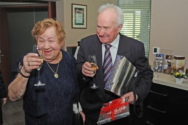 Państwo Machowina świętowali 60 lat wspólnego życia