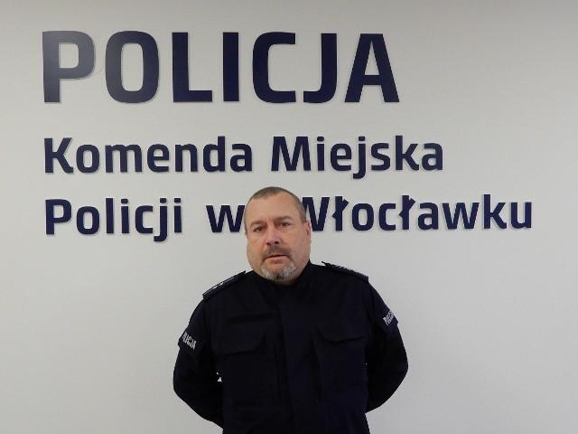 Aspirant Dariusz Wołczak, w czasie wolnym od służby, ujął złodzieja sklepowego