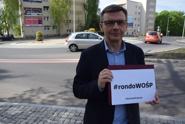 Wielka Orkiestra Świątecznej Pomocy będzie w nazwie ronda koło szpitala w Gorzowie.