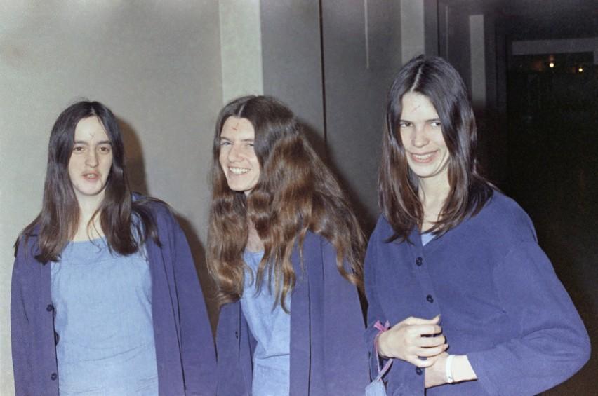 """Członkinie sekty """"Rodzina"""" Charlesa Mansona. Od lewej: Susan..."""