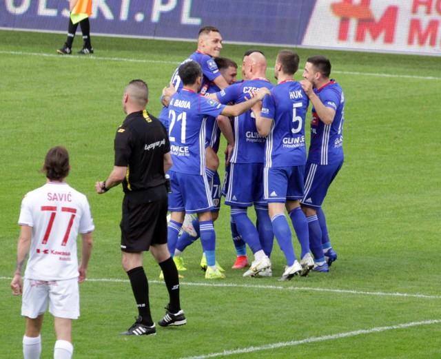 16.05.2021. Ostatni mecz poprzedniego sezonu: Piast Gliwice - Wisła Kraków 2:3.