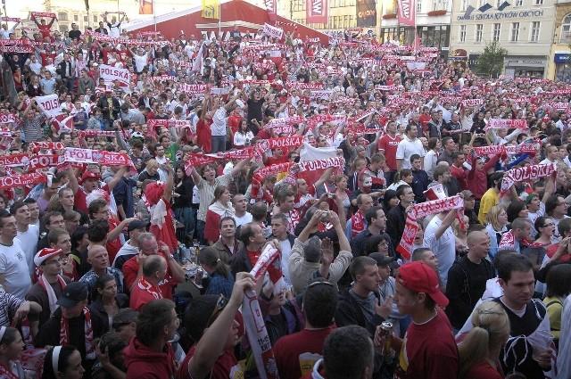 Podczas Euro 2012 kibice będą mogli się wspólnie bawić nie tylko w Poznaniu.