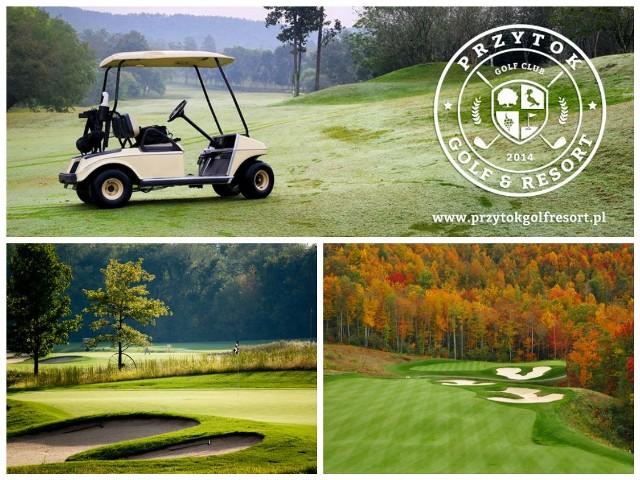 Pole golfowe w Przytoku k. Zielonej Góry (wizualizacja)Wizualizacja pola golfowego Przytok Golf & Resort