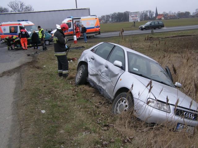 """Wypadek w Kończewicach na """"berlince"""""""